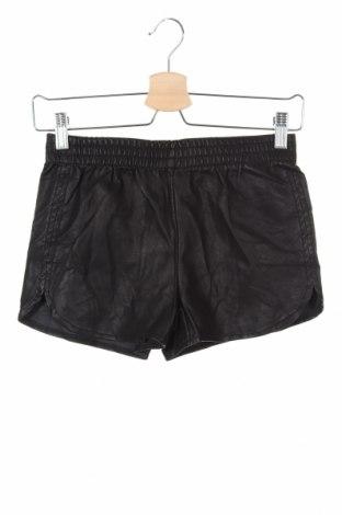Dámské krátké kožené kalhoty  Tally Weijl, Velikost XXS, Barva Černá, Eko kůže, Cena  335,00Kč