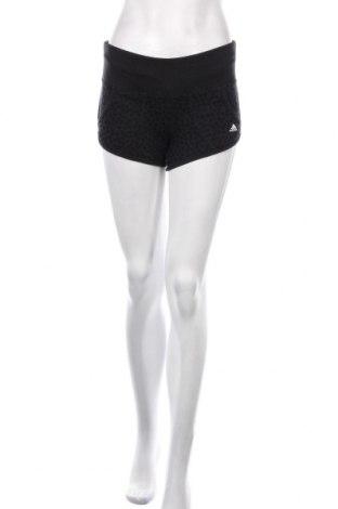 Pantaloni scurți de femei Adidas, Mărime XS, Culoare Negru, 60% bumbac, 40% poliester, Preț 67,64 Lei
