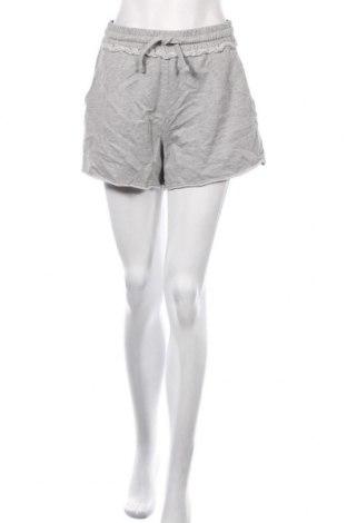 Pantaloni scurți de femei Edc By Esprit, Mărime XL, Culoare Gri, 93% bumbac, 7% viscoză, Preț 59,68 Lei