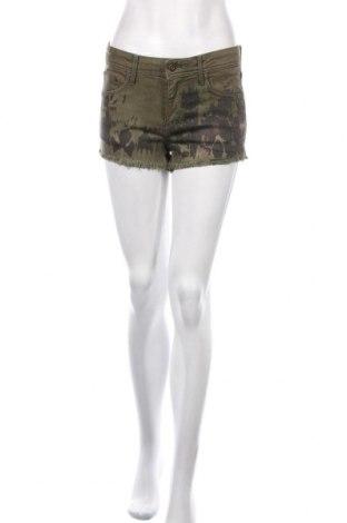 Dámské kraťasy  H&M, Velikost M, Barva Zelená, 98% bavlna, 2% elastan, Cena  574,00Kč