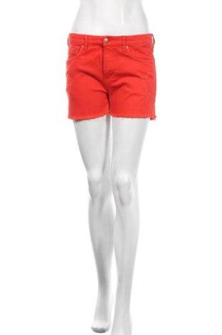 Dámské kraťasy  H&M, Velikost M, Barva Červená, 99% bavlna, 1% elastan, Cena  414,00Kč