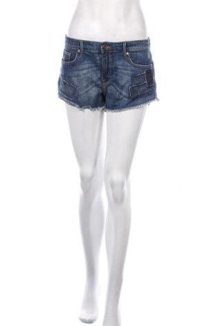 Dámské kraťasy  H&M, Velikost L, Barva Modrá, 90% bavlna, 8% polyester, 2% elastan, Cena  287,00Kč