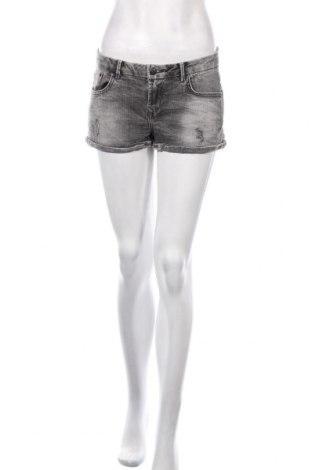 Pantaloni scurți de femei Ltb, Mărime S, Culoare Gri, 98% bumbac, 2% elastan, Preț 79,58 Lei