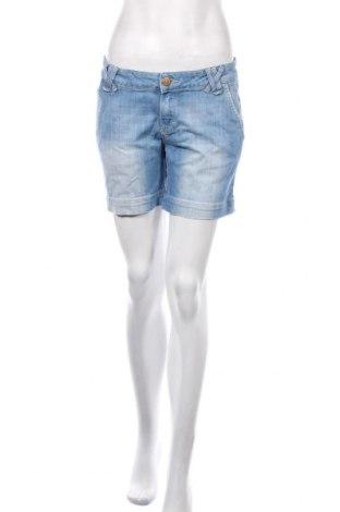 Pantaloni scurți de femei Massimo Dutti, Mărime M, Culoare Albastru, Preț 119,37 Lei