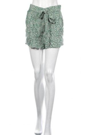 Pantaloni scurți de femei Pieces, Mărime M, Culoare Verde, Viscoză, Preț 59,68 Lei