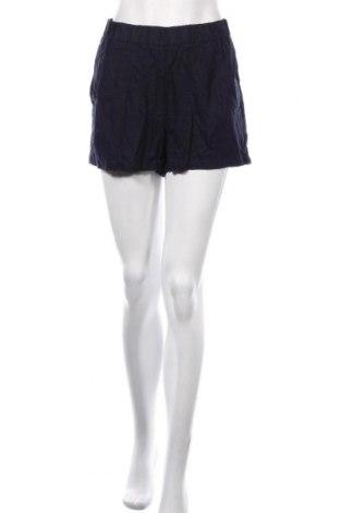 Pantaloni scurți de femei Vero Moda, Mărime L, Culoare Albastru, 55% in, 45% viscoză, Preț 76,26 Lei