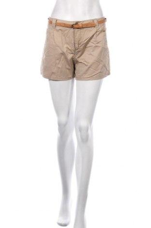 Pantaloni scurți de femei Vero Moda, Mărime M, Culoare Bej, Bumbac, Preț 72,95 Lei