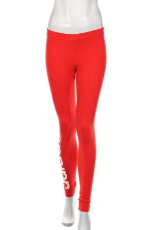 Dámské legíny  Adidas Originals, Velikost M, Barva Červená, 93% bavlna, 7% elastan, Cena  562,00Kč