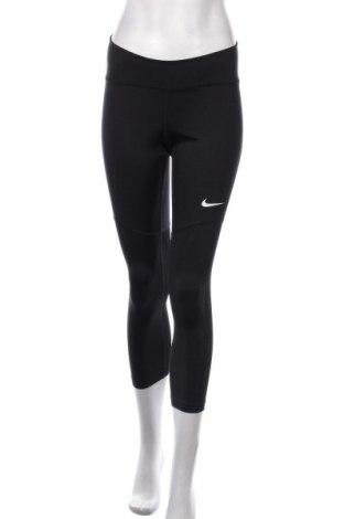 Dámské legíny  Nike, Velikost M, Barva Černá, 85% polyester, 15% elastan, Cena  717,00Kč