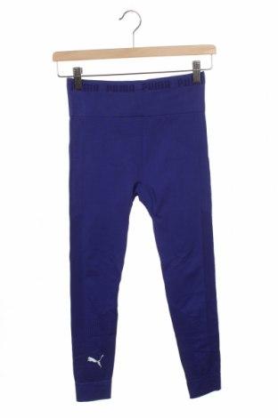 Damskie legginsy PUMA, Rozmiar XS, Kolor Niebieski, 94% poliamid, 6% elastyna, Cena 99,00zł
