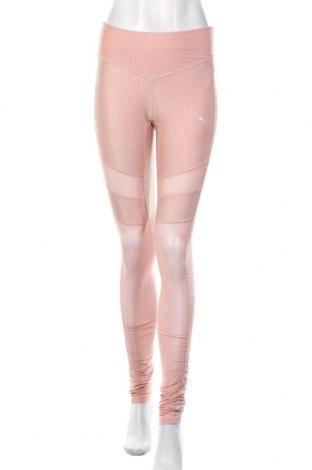 Damskie legginsy PUMA, Rozmiar S, Kolor Różowy, 87% poliester, 13% elastyna, Cena 99,00zł