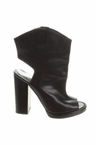 Dámské letní kozačky Zara, Velikost 37, Barva Černá, Pravá kůže, Cena  813,00Kč