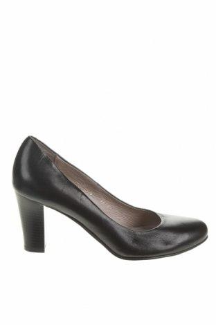 Dámské boty  Lisa Minardi, Velikost 38, Barva Černá, Pravá kůže, Cena  1901,00Kč