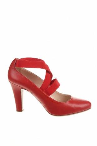 Încălțăminte de damă Prada, Mărime 38, Culoare Roșu, Piele naturală, Preț 880,27 Lei