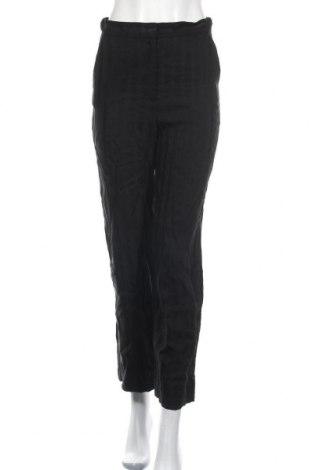 Γυναικείο παντελόνι & Other Stories, Μέγεθος S, Χρώμα Μαύρο, 64% βισκόζη, 31% λινό, 5% βαμβάκι, Τιμή 23,38€