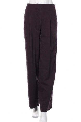 Дамски панталон COS, Размер S, Цвят Лилав, 98% вълна, 2% еластан, Цена 44,25лв.