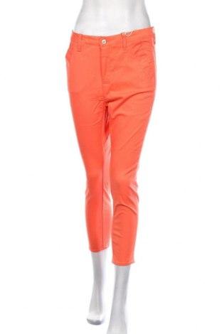 Дамски панталон G-Star Raw, Размер M, Цвят Червен, 98% памук, 2% еластан, Цена 171,75лв.