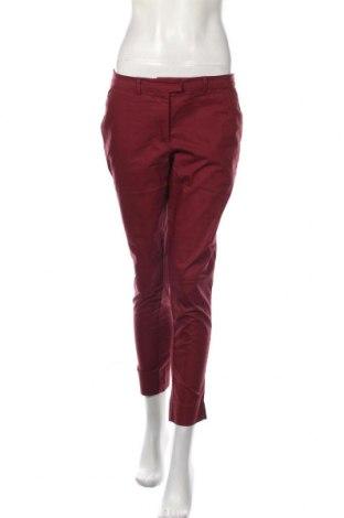 Dámské kalhoty  H&M, Velikost M, Barva Červená, 58% polyester, 39% polyamide, 3% elastan, Cena  542,00Kč