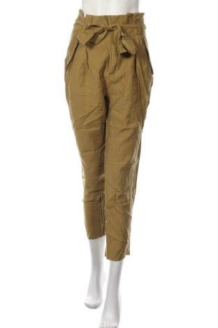 Dámské kalhoty  H&M, Velikost M, Barva Zelená, 89% lyocell, 11% elastan, Cena  542,00Kč