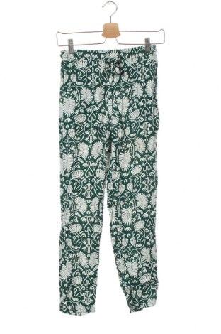 Dámské kalhoty  H&M, Velikost XS, Barva Zelená, 100% viskóza, Cena  542,00Kč