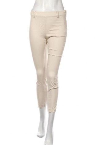 Dámské kalhoty  H&M, Velikost S, Barva Béžová, 65% bavlna, 33% polyester, 2% elastan, Cena  542,00Kč