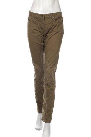 Pantaloni de femei Kookai, Mărime L, Culoare Verde, 98% bumbac, 2% elastan, Preț 106,11 Lei