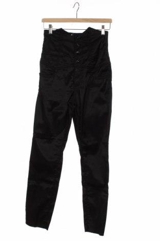 Γυναικείο παντελόνι Miss Sixty, Μέγεθος XS, Χρώμα Μαύρο, 62% πολυαμίδη, 37% βαμβάκι, 1% ελαστάνη, Τιμή 21,80€