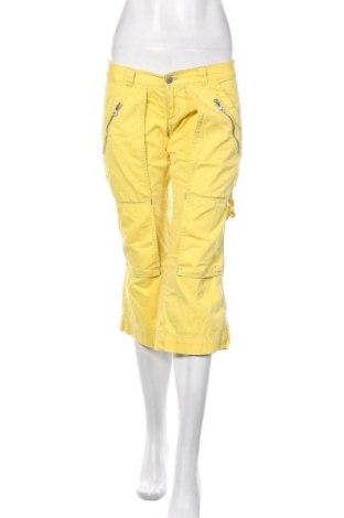 Γυναικείο παντελόνι Miss Sixty, Μέγεθος S, Χρώμα Κίτρινο, Βαμβάκι, Τιμή 17,17€