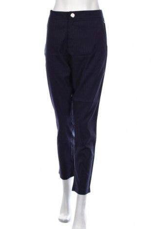Дамски панталон Numph, Размер L, Цвят Син, 64% полиестер, 34% вискоза, 2% еластан, Цена 97,30лв.