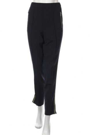 Дамски панталон Oui, Размер L, Цвят Син, 68% полиестер, 29% вискоза, 3% еластан, Цена 119,25лв.