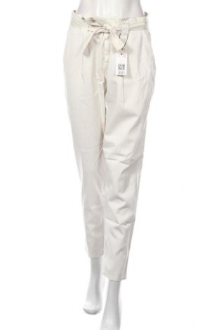 Дамски панталон Oui, Размер M, Цвят Сив, 55% лиосел, 43% памук, 2% еластан, Цена 132,30лв.
