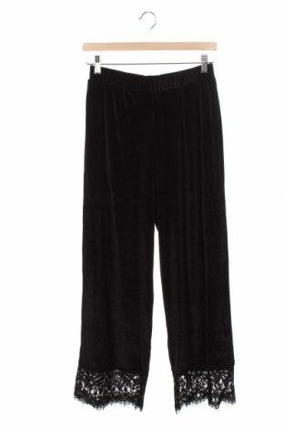 Pantaloni de femei Pieces, Mărime XS, Culoare Negru, 90% poliester, 10% elastan, Preț 145,56 Lei