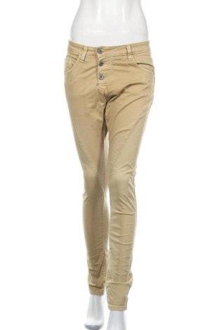 Pantaloni de femei Please, Mărime S, Culoare Galben, Preț 152,53 Lei