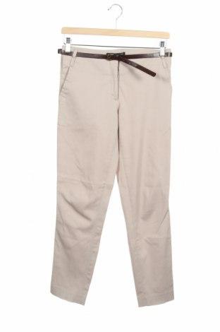 Дамски панталон Reserved, Размер XS, Цвят Бежов, Цена 25,50лв.