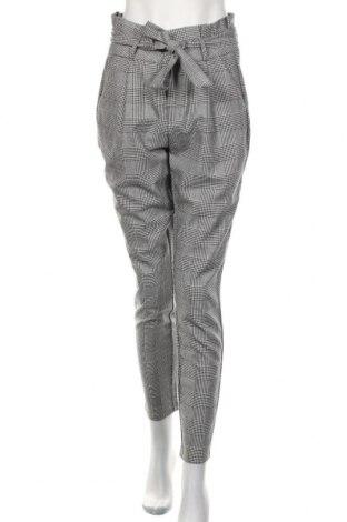 Pantaloni de femei Vero Moda, Mărime M, Culoare Gri, 65% poliester, 33% viscoză, 2% elastan, Preț 83,88 Lei