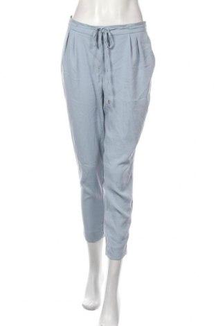 Pantaloni de femei Zara, Mărime M, Culoare Albastru, Poliester, Preț 55,70 Lei