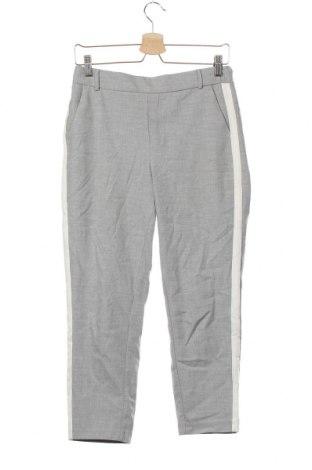 Pantaloni de femei Zara Trafaluc, Mărime XS, Culoare Gri, 63% poliester, 32% viscoză, 5% elastan, Preț 57,70 Lei
