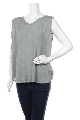Γυναικείο αμάνικο μπλουζάκι Kaffe, Μέγεθος XXL, Χρώμα Πράσινο, Βισκόζη, Τιμή 31,82€