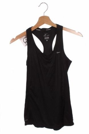 Damska koszulka na ramiączkach Nike, Rozmiar XS, Kolor Czarny, Cena 63,00zł