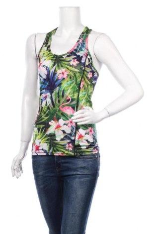 Tricou de damă Reserved, Mărime S, Culoare Multicolor, 90% poliester, 10% elastan, Preț 89,53 Lei
