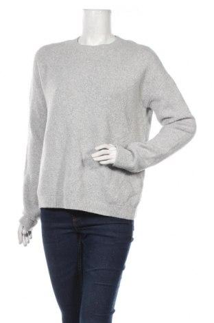 Γυναικείο πουλόβερ & Other Stories, Μέγεθος M, Χρώμα Γκρί, 42% βαμβάκι, 26%ακρυλικό, 25% πολυαμίδη, 4% μαλλί, 3% ελαστάνη, Τιμή 29,23€