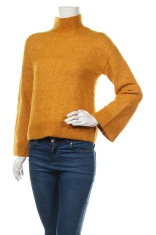 Γυναικείο πουλόβερ & Other Stories, Μέγεθος XS, Χρώμα Κίτρινο, 34% μοχαίρ, 34% μαλλί, 27% πολυαμίδη, 5% ελαστάνη, Τιμή 28,58€