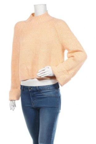 Γυναικείο πουλόβερ & Other Stories, Μέγεθος S, Χρώμα Ρόζ , 50% πολυαμίδη, 50% μαλλί, Τιμή 33,77€