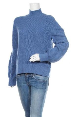Γυναικείο πουλόβερ & Other Stories, Μέγεθος S, Χρώμα Μπλέ, 50% μαλλί, 50% πολυαμίδη, Τιμή 35,07€