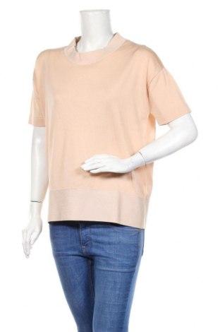 Дамски пуловер COS, Размер S, Цвят Бежов, 100% памук, Цена 40,88лв.