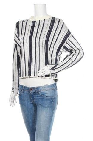 Дамски пуловер Carin Wester, Размер S, Цвят Бял, 86% памук, 14% лен, Цена 29,40лв.