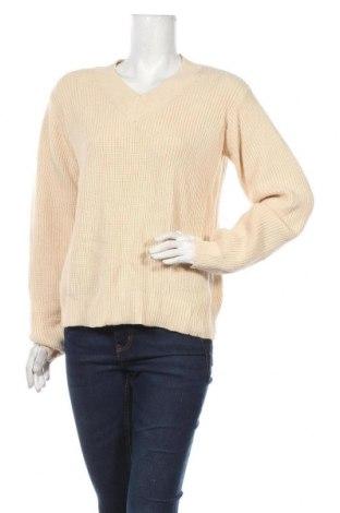 Γυναικείο πουλόβερ Coop, Μέγεθος L, Χρώμα  Μπέζ, 50% βισκόζη, 25% πολυεστέρας, 25% πολυαμίδη, Τιμή 18,84€