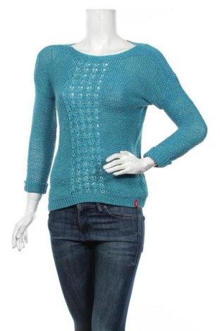 Γυναικείο πουλόβερ Edc By Esprit, Μέγεθος S, Χρώμα Μπλέ, 63% βαμβάκι, 37% πολυαμίδη, Τιμή 20,78€