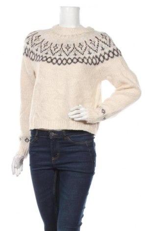 Дамски пуловер Garage, Размер M, Цвят Бежов, 74% акрил, 26% полиестер, Цена 27,30лв.