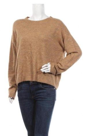Dámský svetr H&M, Velikost M, Barva Béžová, 52%acryl, 27% polyamide, 12% polyester, 6% elastan, 3% vlna, Cena  510,00Kč